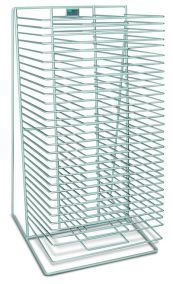 DR1830 - AWT Single Sided Tabletop Drying & Storage Rack 30 Shelves