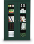 Clear View Steel Storage Cabinets