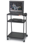 Wide Bottom TV Carts