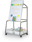 Teacher's Value Easel and Book Cart