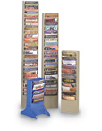 Con-Tur Vertical Steel Literature Racks