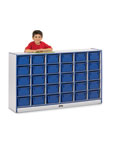 Rainbow Accents Sectional Mobile Cubbies