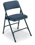 Premium Steel Upholstered Folding Chair