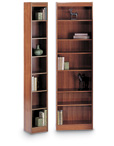 Narrow Wood Bookcases