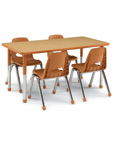 Husky Chairs and Activity Tables