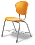 "ZumaFRD 18"" 4-Leg Chair"
