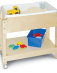 Petite Sand and Water Sensory Table with Lid/Shelf