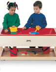 Sensory Tables With Shelving