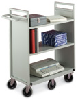 Six Wheel Book Carts