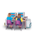 Children's Colorful Mobile Computer Desk