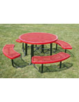 Diamond Round Picnic Tables