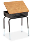 Heavy-Duty Lift Lid Desks