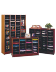 Wood Literature Organizer