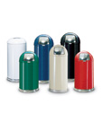 Fire Safe Dome Top Waste Receptacles
