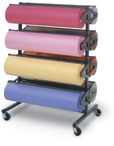 Eight Roll Paper Racks