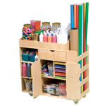 Art Paper & Supply Storage