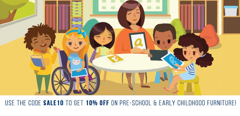 10% Off Early Childhood Furniture