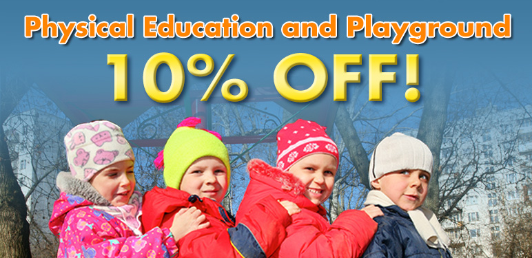 10% Off Physical Education And Playground