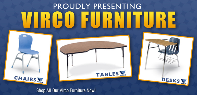 Shop a Wide variety of Virco Chairs from National School Furniture