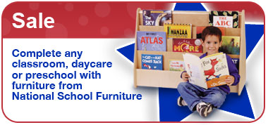 Sale. Complete any classroom, daycare or preschool with furniture from National School Furniture