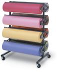 Eight Roll Paper Racks